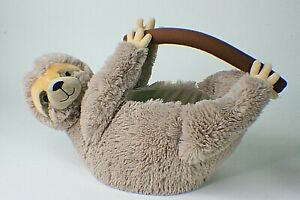 Sloth Plush Stuffed Easter Holiday Basket  gr2