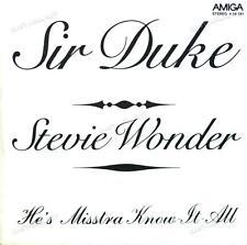 Stevie Wonder - Sir Duke / He's Misstra Know-It-All 7in 1976 (VG/VG) .