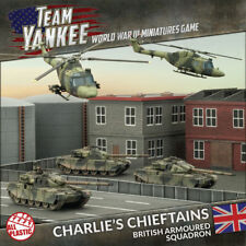 Team Yankee Charlie's Chieftain New Plastic Army By Battlefronts FOW TBRAB2