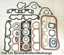 * FIAT 124 125 (DOHC) engine gasket set  NEW RECENTLY MADE