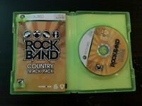 Rock Band: Country Track Pack (Microsoft Xbox 360, 2009) CIB Complete TESTED