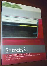 LIBRO CATALOGO SOTHEBY'S CONTEMPORARY ART London 25 October 2005 Wolfgang Hahn