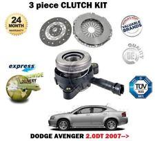 Pour Dodge Avenger 2.0 Dt Diesel 2007> Neuf Kit Embrayage Avec Esclave Cylindre