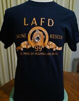 Los Angeles Fire Department Engine 99 Beverly Hills T Shirt Large 44 chest LAFD