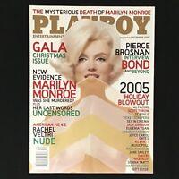 Playboy Magazine, December 2005 🐇  LIKE NEW, Pierce Brosnan, Christine Smith CF