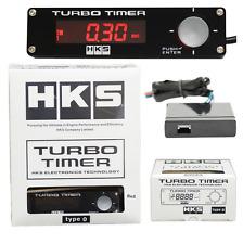HKS Digital Car Turbo Timer Boost Gauge - Control LED With Voltage Meter Display