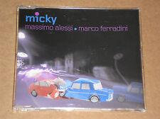 MASSIMO ALESSI & MARCO FERRADINI - MICKY - CD SINGOLO COME NUOVO (MINT)