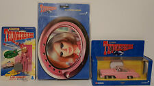 THUNDERBIRDS : FAB 1, LADY PENELOPE ACTION FIGURE AND MOUSE PAD BUNDLE (DRMP)