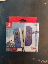 The Legend Of Zelda Skyward Sword Joycon Pair Nintendo Switch Nuovi