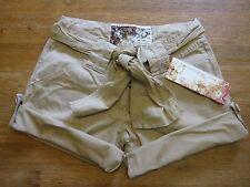 US Army Shorts Women Ladies Shorts Khaki Sand Size XL RIPSTOP HOT PANTS STYLE