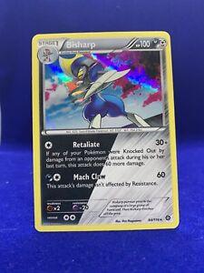 2016 Bisharp Holo Foil Rare Steam Siege Pokemon Card NM 64/114 Nintendo