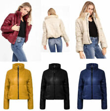 Unbranded Zip Puffer Coats & Jackets for Women