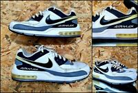 Nike Air Max Ltd II Leather White Black Gray Running Shoes Mens Sneakers Size 11