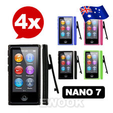 AU For Apple iPod nano 7 Gen 7G 7th TPU Soft Gel Cover Case Belt Clip Sport 4x