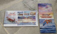Malaysia 2008 Dragon Boat Championship Perahu Naga MS  stamp FDC with brochure