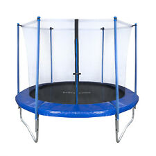 Outdoor Garten Trampolin Set 250 cm XXL mit Sicherheits-Netz Randabdeckung