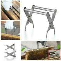 Beekeeping Bee Hive Frame Holder Lifter Clamp Grip Tool Steel Stainless C6W5