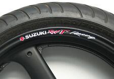8 x SUZUKI RGV R RACING WHEEL RIM STICKERS DECALS rgvr 250 125 500