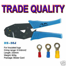 CRIMP TOOL DUAL BATTERY TOOL FOR CRIMPING LUGS UP TO 6mm2 12V DC SYSTEMS