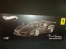 Hot Wheels Elite Ferrari Enzo Test Monza 2003 Mate Negro 1/18