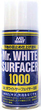 Mr Hobby White Surfacer 1000 170ml Spray B511 GSI Creos Paint Primer Can Supply