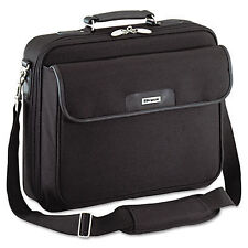 TARGUS Clamshell Notepad Notebook Laptop Carrying Case Bag Black Briefcase