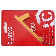Clarks Disc Adapter / Brake Disc Adapter Gold/Orange Front Wheel for 180 mm PM