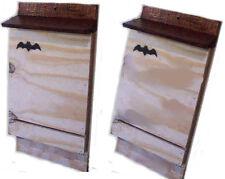 2 BAT BOX PIPISTRELLI in compensato marino - resistenti - Casa del PIPISTRELLO