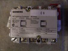 Siemens Lighting Contactor CLMOC05 30 Amp 480 Volt 3 Ph