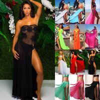 Women Bikini Cover Up Swimwear Summer Beach Maxi Wrap Skirt Sarong Pareo Dress