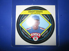 Rare! 1993 King-B PERFORATED PROOF SQUARE - ERROR - Dwight Gooden Mets #14/24