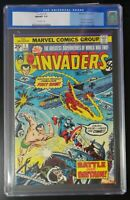 The Invaders #1 1975 Marvel Comics CGC 9.8 First Issue