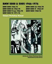 BMW 2000 2002 CS Ti LUX Tii CA Owners Repair Service Workshop Manual Handbook