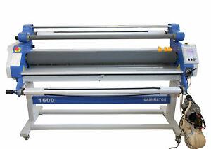Heated Wide Format Laminating Machine – 1600mm Pneumatic
