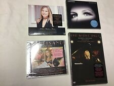 Barbara Streisand CDs Encore, Release Me, What Matters Most, DVD- One Night Only