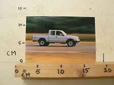 AF168-PHOTO FACTORY ? MAZDA ? PICK-UP PICKUP 4WD CAR AUTO
