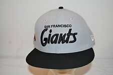 Vintage San Francisco Giants 25 Anniversary Gray  Baseball Cap  Fitted 7 3/8