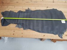 Grey Charcoal Pigment Calf Side Leather 1mm Thick Cut Good Quality Genuine EB55