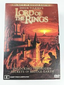 Inside Tolkien's Lord Of The Rings: Secrets Of Middle Earth - Region 4 DVD