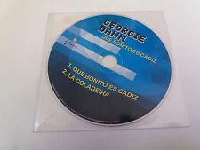 """GEORGIE DANN """"QUE BONITO ES CADIZ"""" CD SINGLE 2 TRACKS COMO NUEVO"""