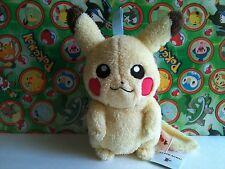 "Pokemon Plush Pikachu 11"" Zipper Pouch Purse Clip I Love Eevee Stuffed figure"