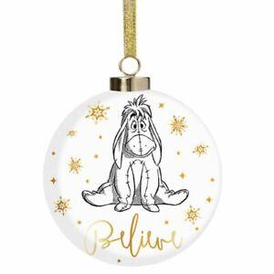 Disney Christmas Bauble - Eeyore - Believe