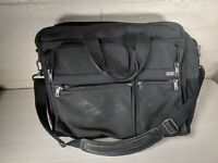 Tumi 26060D4 Black Nylon Expanding Business Laptop Briefcase Bag Business Travel