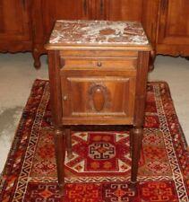 French Antlque Marble Top Nightstand Side Ta le   Bedro   Bedroom Furnituru