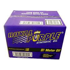 Royal Purple 01154 SAE Multi-Grade Synthetic Motor Oil 15W40 Case of 12 Quarts