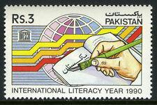 Pakistan 739, MNH. Intl. Literacy Year, 1990