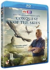 DAVID ATTENBOROUGH'S CONQUEST OF THE SKIES (2015) - BRAND NEW 3D + 2D BLU-RAY