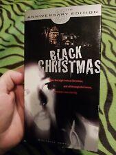 Black Christmas Vhs Slasher Horror Rare 25th Anniversary Critical Mass Htf