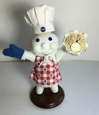 """Pillsbury Doughboy """"Baked to Perfection"""" Porcelain Collection By Danbury Mint"""