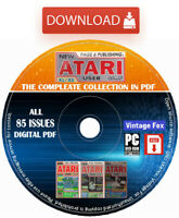 New Atari User Magazine The Complete Collection In PDF All 85 Issues Download +